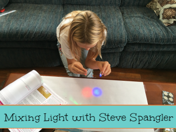 mixing light with steve spangler