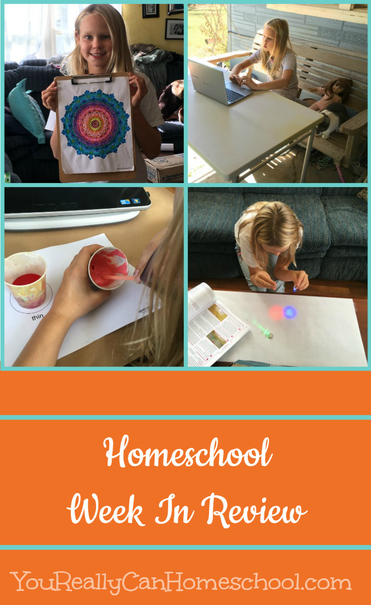 Celebrating our 30th day of homeschooling... week in review: YouReallyCanHomeschool.com