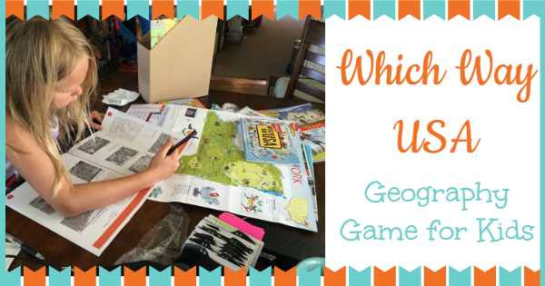 which way usa ~ geography game for kids YouReallyCanHomeschool.com