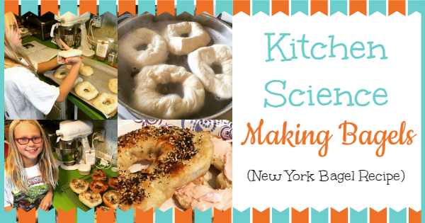 Kitchen Science Making Bagels