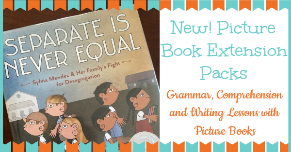 5th grade Grammar, comprehension, and writing lessons from picture books