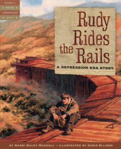 Rudy Rides the Rails and 19 other picture books for 5th graders