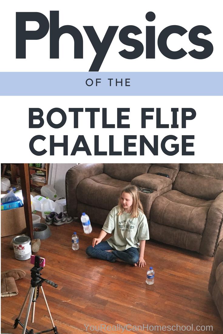 Physics of the Bottle Flip Challenge