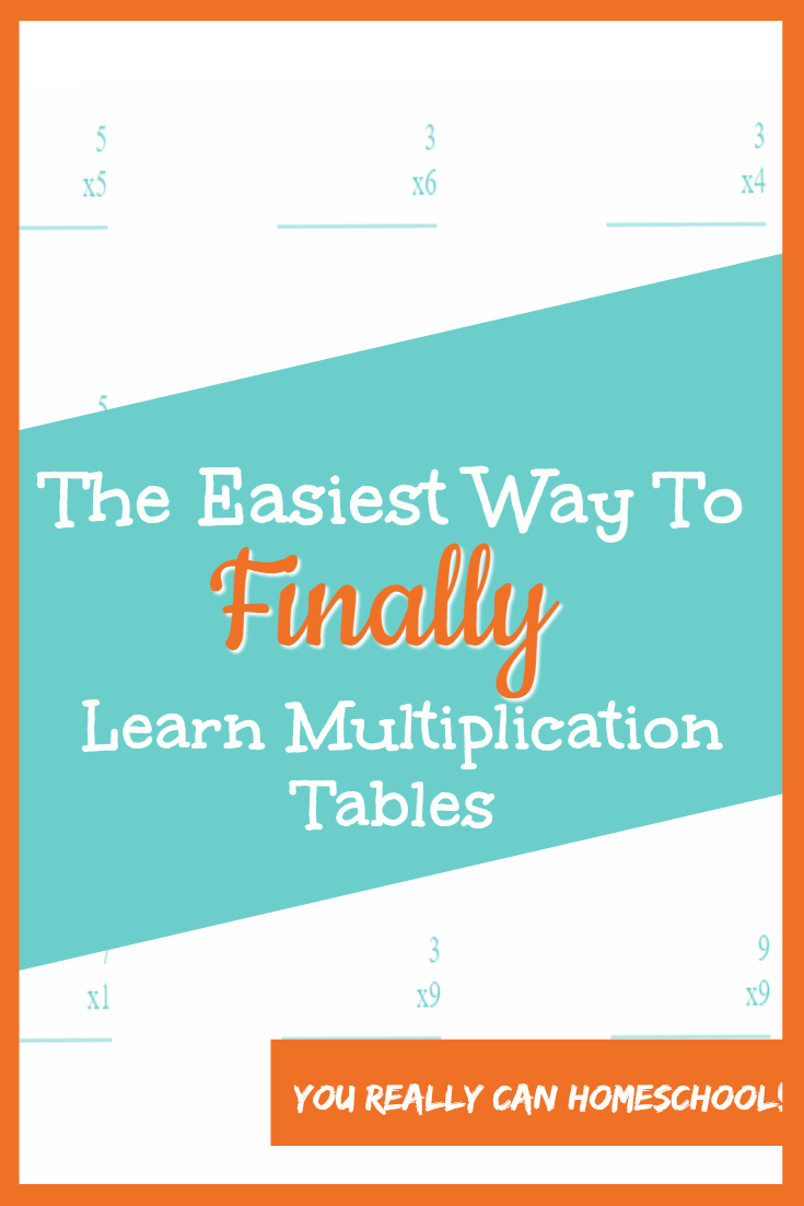 learn multiplication tables easily