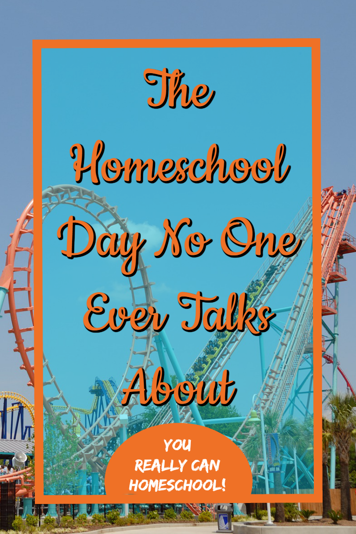 the homeschool day no one talks about