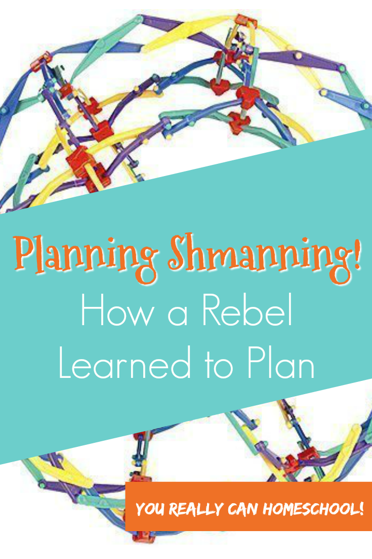 Homeschool planning: how a rebel learned to plan