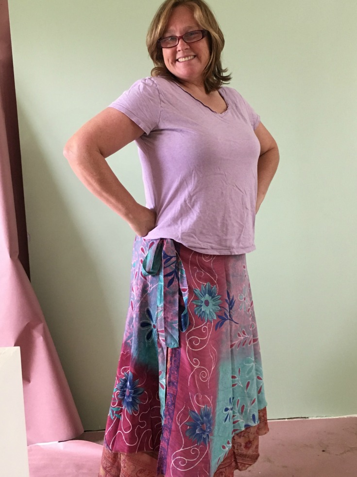 darn good yarn wrap around skirts