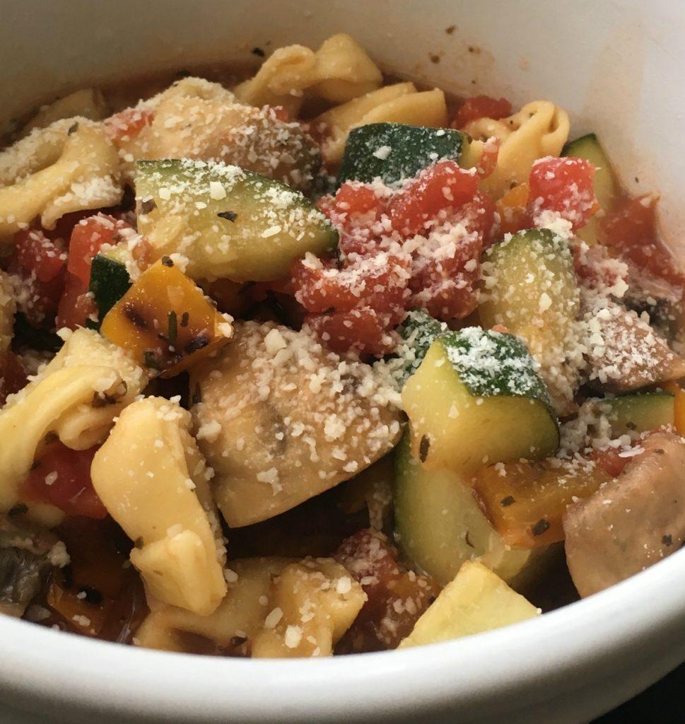 vegetable tortellini