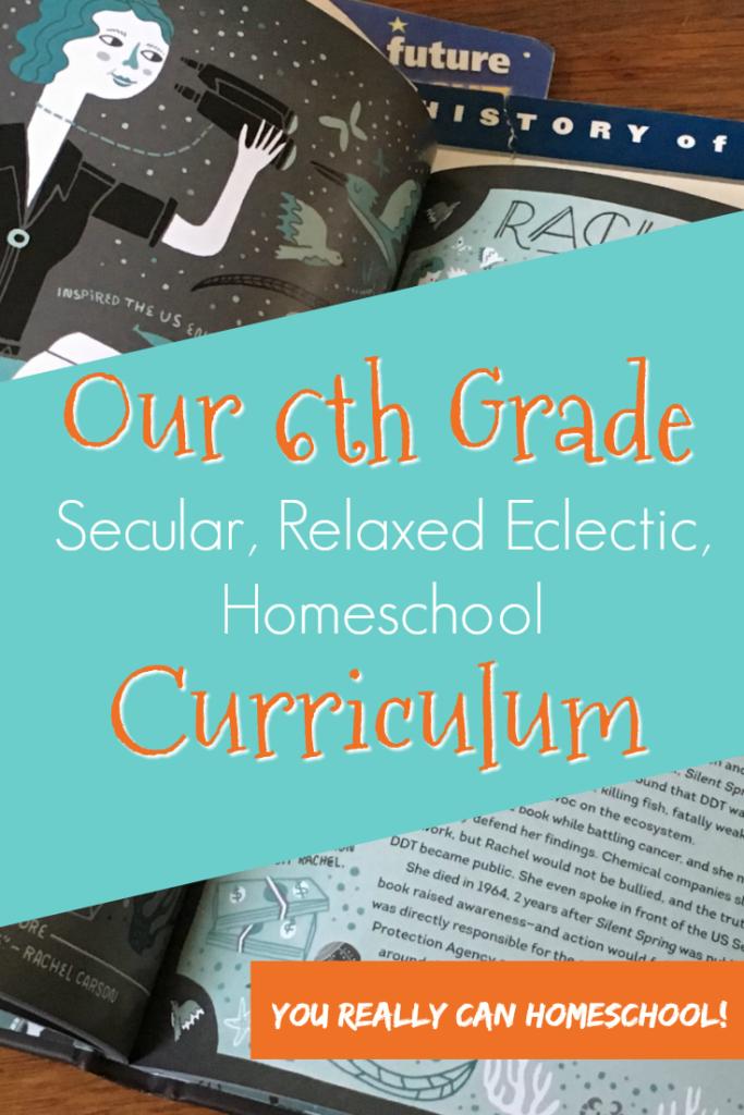 6th grade curriculum homeschool