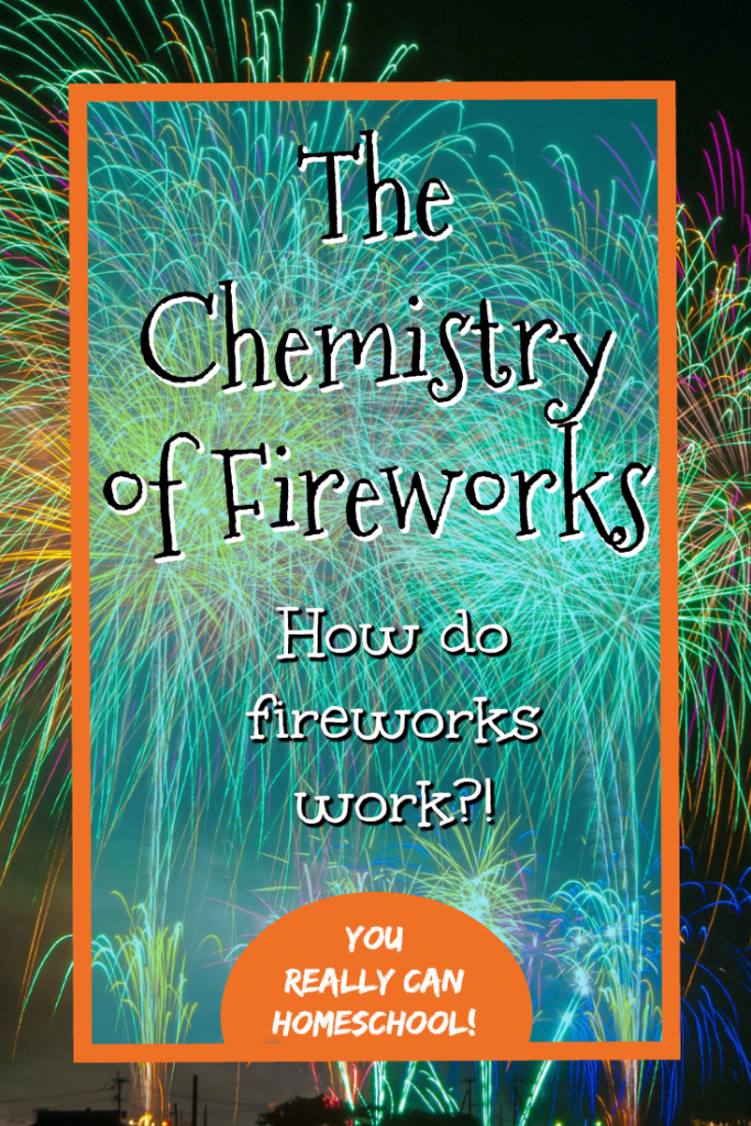The chemistry of fireworks!