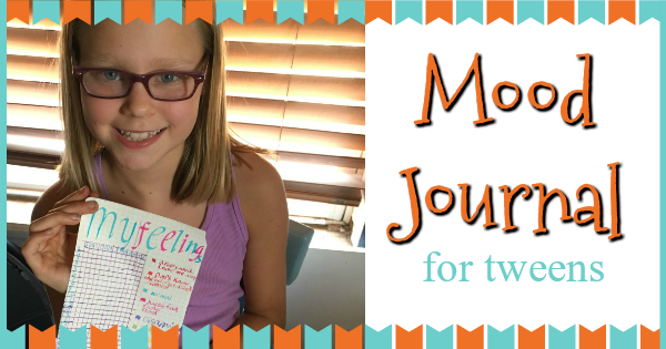 Mood Journal for tweens