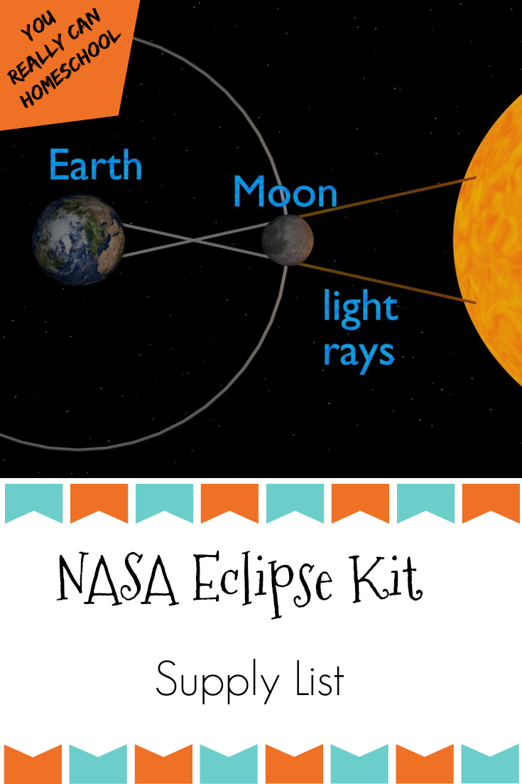 The NASA eclipse kit is a fantastic packet of solar eclipse activities. Get all the supplies you'll need with this complete list.