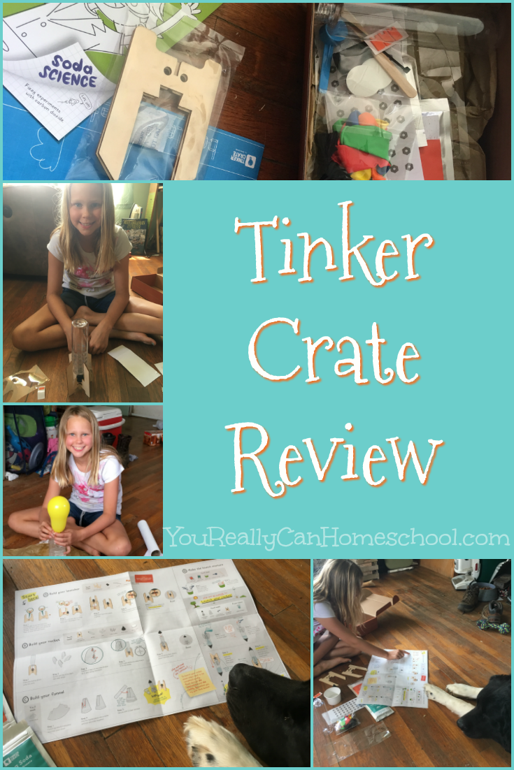 Science subscription boxes can be awesome. We've tested many sciences boxes from many companies. Here's our Tinker Crate Review. See how it stacks up to the others.