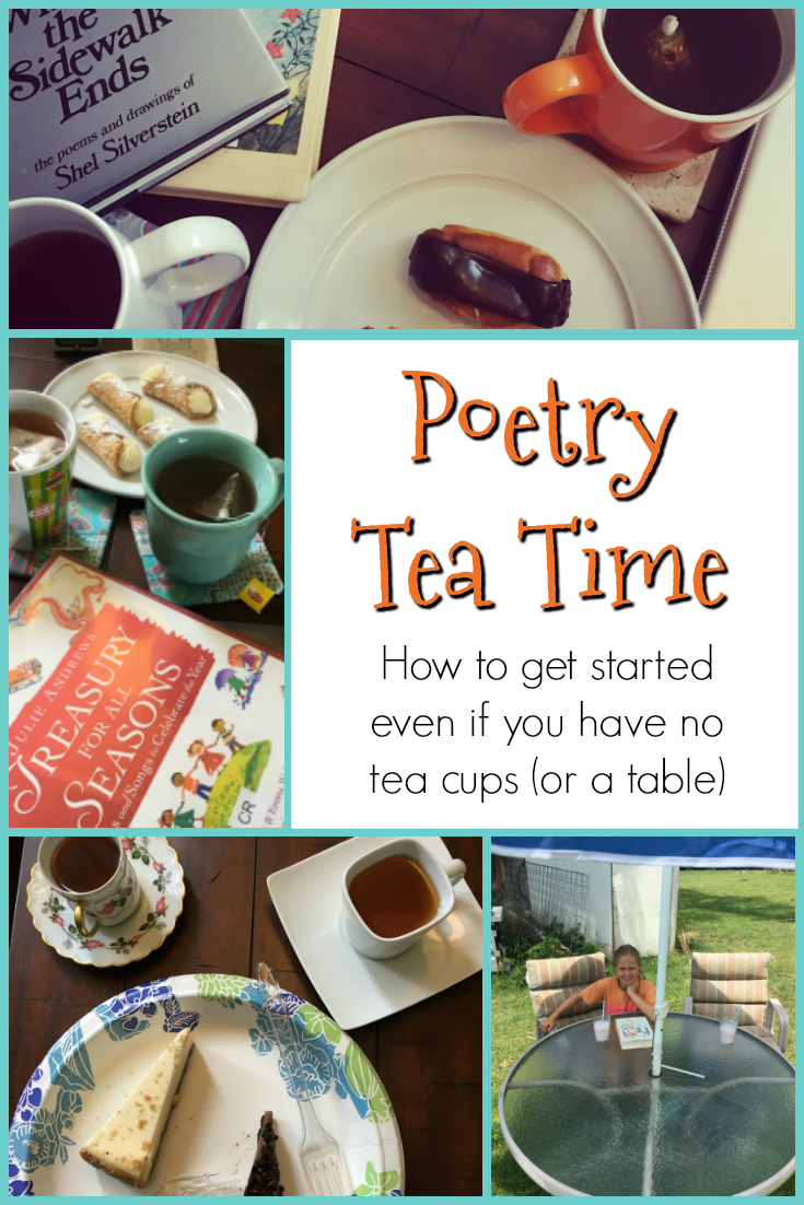 Poetry tea time getting started