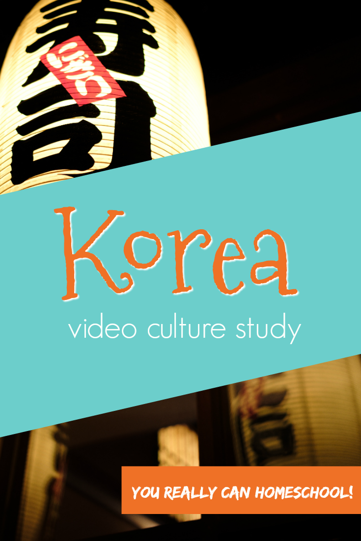 Korea: Homeschool video culture study