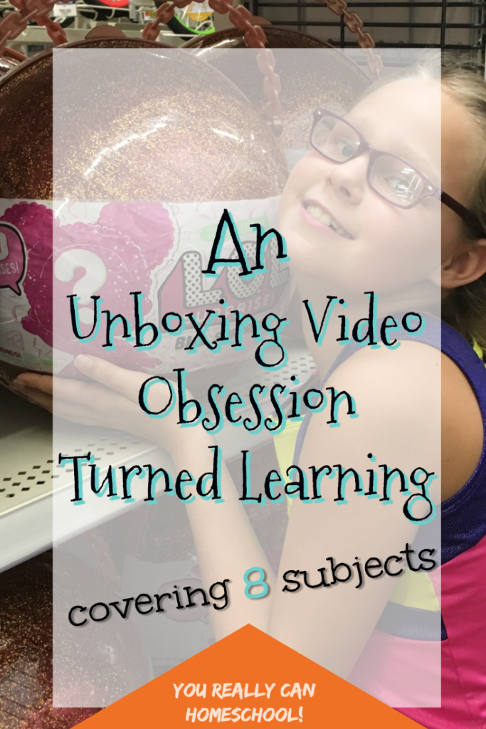 Unboxing video obsession turned learning covering 8 subjects